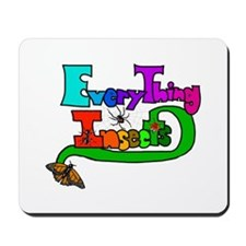 Everything Insects Mousepad