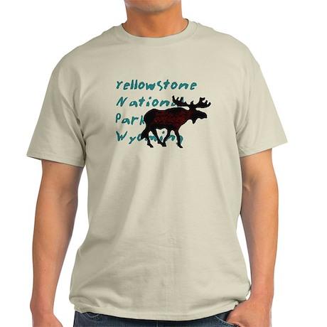 Yellowstone National Park Wyo Light T-Shirt