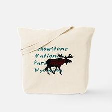 Yellowstone National Park Wyo Tote Bag