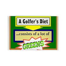 Golfers Diet/t-shirt Magnets