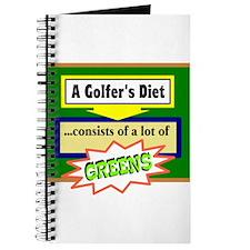 Golfers Diet/t-shirt Journal