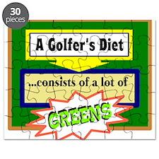 Golfers Diet/t-shirt Puzzle