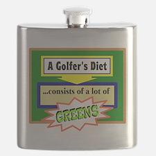 Golfers Diet/t-shirt Flask