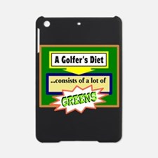Golfers Diet/t-shirt iPad Mini Case