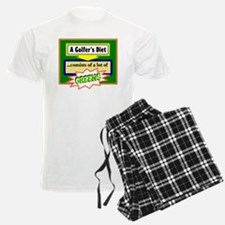 Golfers Diet/t-shirt Pajamas