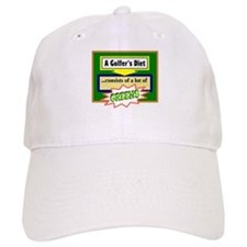 Golfers Diet/t-shirt Baseball Baseball Baseball Cap