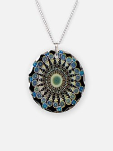Fibonacci crystal Necklace