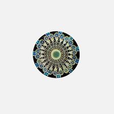 Fibonacci crystal Mini Button