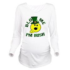 Irish BJ Long Sleeve Maternity T-Shirt