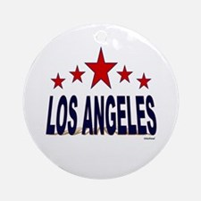 Los Angeles Ornament (Round)