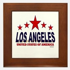 Los Angeles U.S.A. Framed Tile