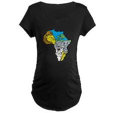 africa Maternity T-Shirt