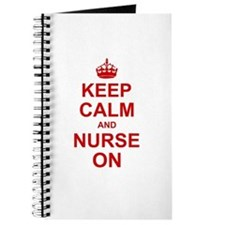 Keep Calm and Nurse on Journal