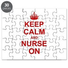 Keep Calm and Nurse on Puzzle