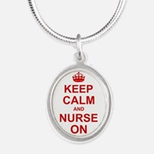 Keep Calm and Nurse on Necklaces