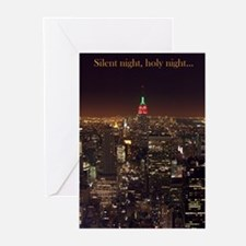 New York City Pk of 10 Christmas Cards (BLANK)