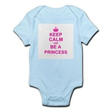 Keep Calm and be a Princess Body Suit