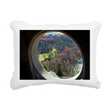 Through the looking wind Rectangular Canvas Pillow