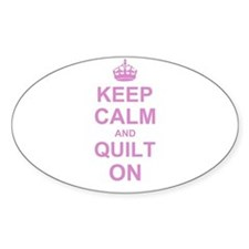 Keep Calm and Quilt on Stickers