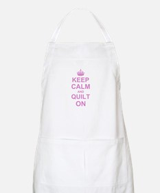 Keep Calm and Quilt on Apron
