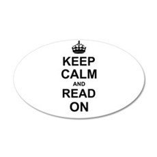 Keep Calm and Read on Wall Sticker