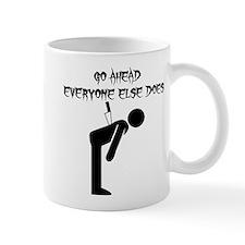 Knife In Back Mug