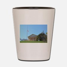 Arlington House Shot Glass