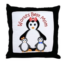 World's Best Mom Throw Pillow