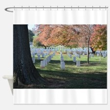 Autumn in Arlington Shower Curtain