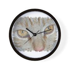 "Wall Clock ""Ahu - the nice red cat"""