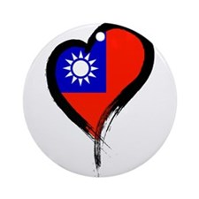 Heart Nation 06 Ornament (Round)