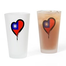 Heart Nation 06 Drinking Glass