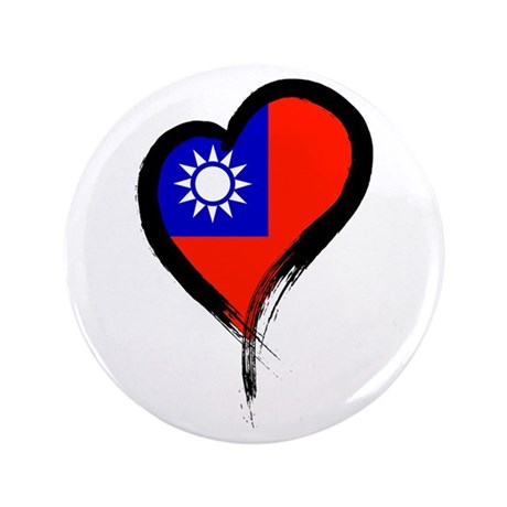 "Heart Nation 06 3.5"" Button"