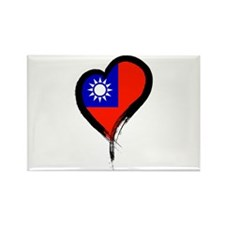 Heart Nation 06 Rectangle Magnet (10 pack)