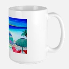 Airstream Camper Art Large Mug