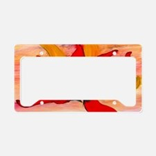 Chili peppers License Plate Holder