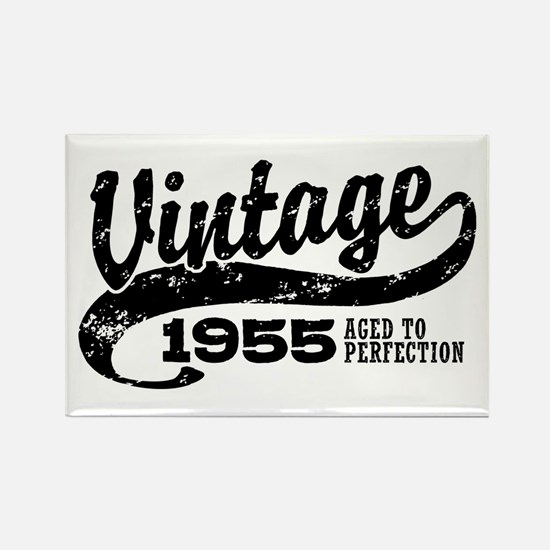 Vintage 1955 Rectangle Magnet
