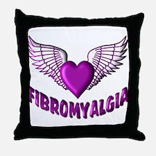 FIBROMYALGIA WINGS Throw Pillow