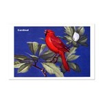 Northern Cardinal Bird Mini Poster Print