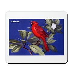 Northern Cardinal Bird Mousepad