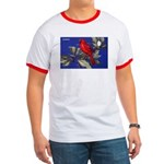 Northern Cardinal Bird Ringer T
