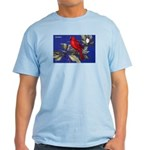 Northern Cardinal Bird Light T-Shirt
