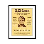 Butch Cassidy Framed Panel Print