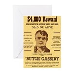 Butch Cassidy Greeting Cards (Pk of 10)