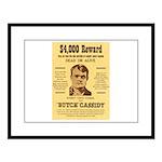 Butch Cassidy Large Framed Print