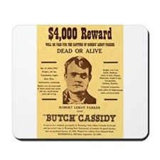 Butch Cassidy Mousepad