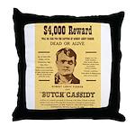 Butch Cassidy Throw Pillow