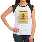 Butch Cassidy Women's Cap Sleeve T-Shirt