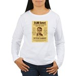 Butch Cassidy Women's Long Sleeve T-Shirt
