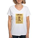 Butch Cassidy Women's V-Neck T-Shirt